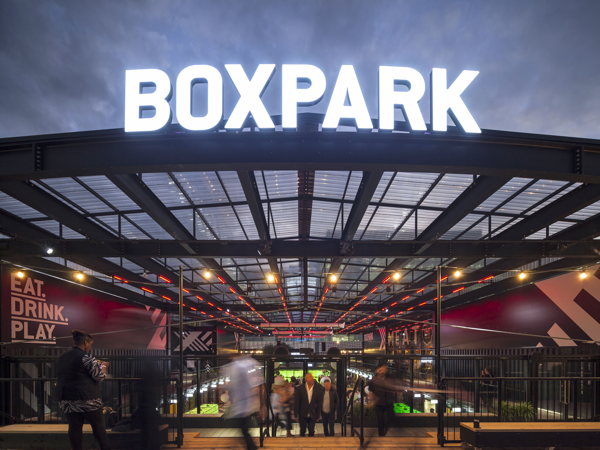 Seven of the best things to eat at Boxpark Croydon