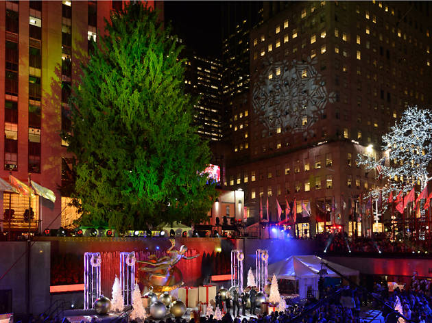 The Rockefeller Christmas Tree arrives in NYC this weekend