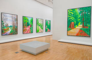 David Hockney Current 2016 1 (Supplied by NGV)