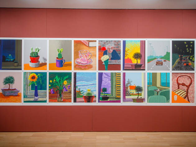 David Hockney Current 2016 2 (Supplied by NGV)