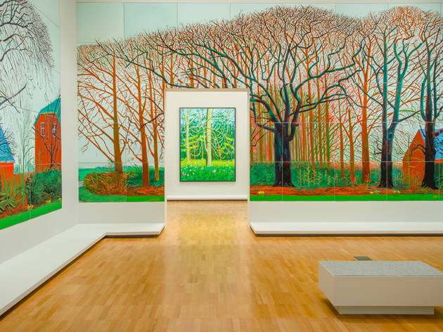 David Hockney Current 2016 3 (Supplied by NGV)