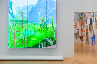 David Hockney Current 2016 4 (Supplied by NGV)