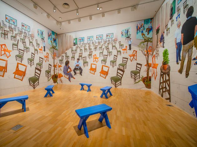David Hockney Current 2016 6 (Supplied by NGV)