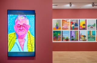 David Hockney Current 2016 9 (Supplied by NGV)