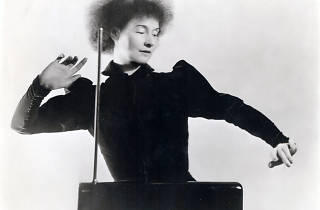 Theremin. El instrumento intocable