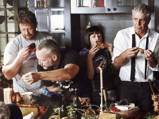 "Anthony Bourdain, ""The Hunger"" Tour"
