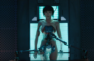 Scarlett Johansson is a nude cyborg in first Ghost in the