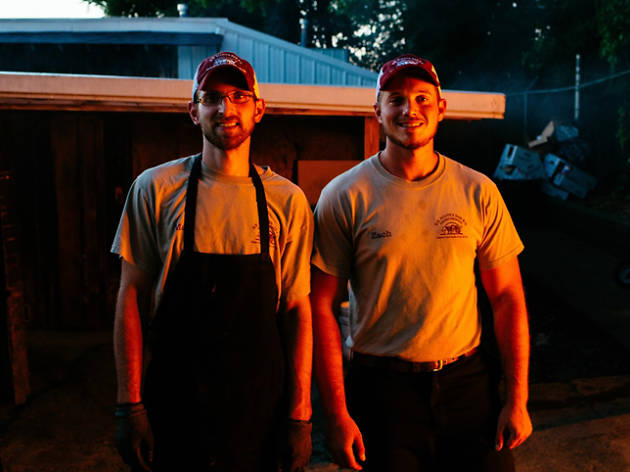 The pit-masters from Scott's Barbecue