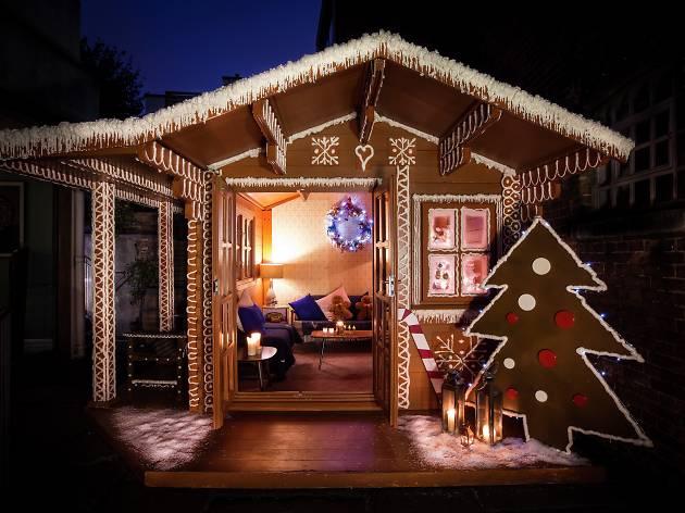 Gingerbread Winter Cabin