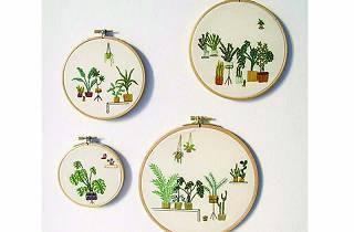 Bordados botánicos de Coco Esteve