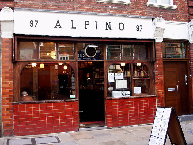 London's best greasy spoon cafes, alpino
