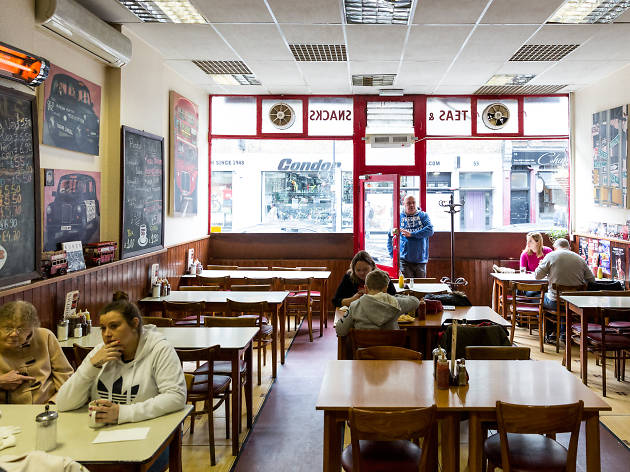 london's best greasy spoon cafes, andrew's restaurant