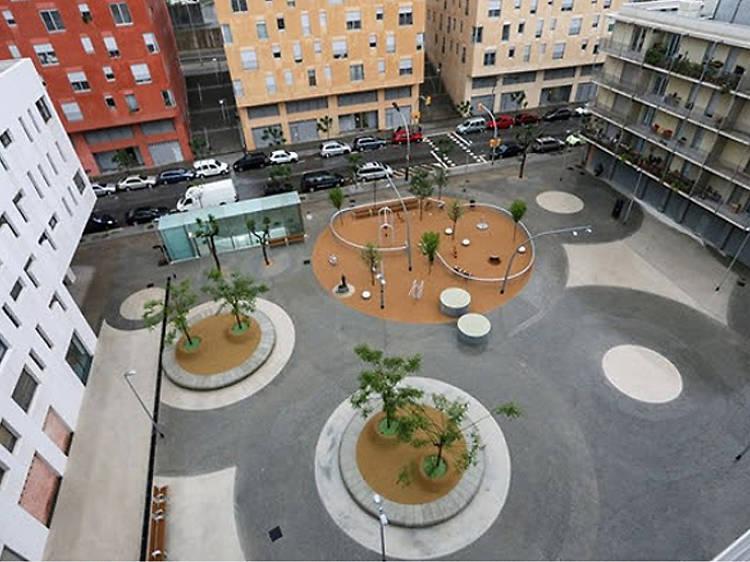 Plaça dels Eucaliptus