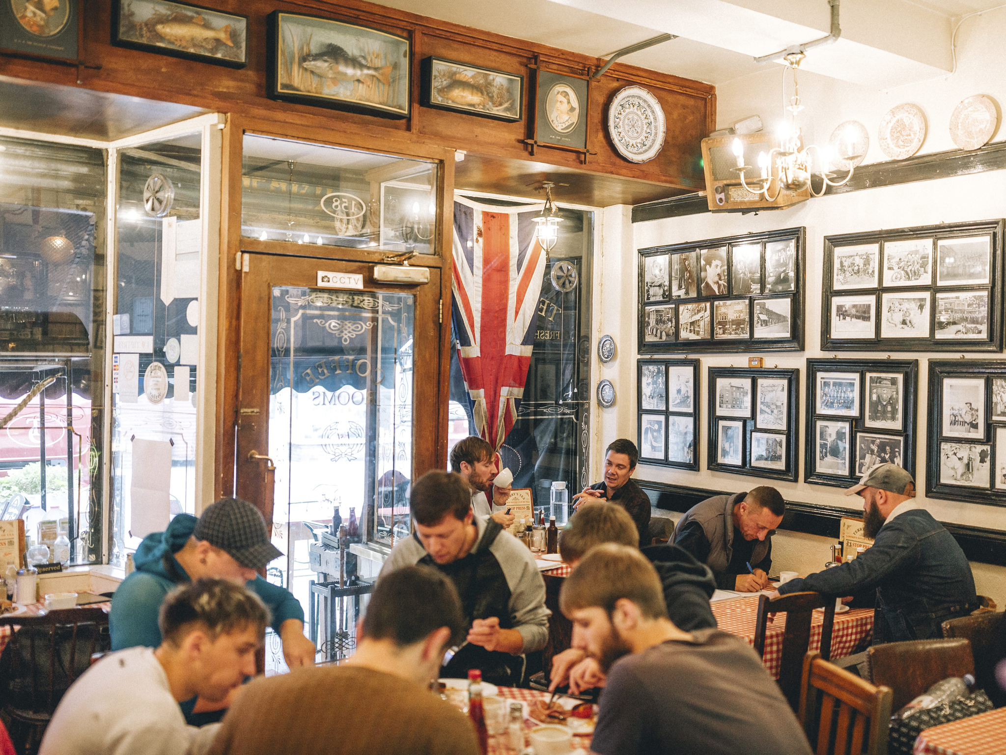London's best greasy spoon cafes, Terry's Cafe