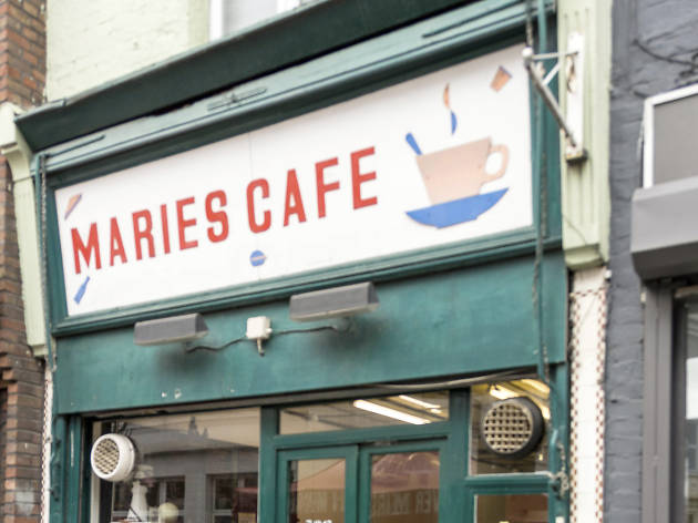 london's best greasy spoon cafes, marie's cafe
