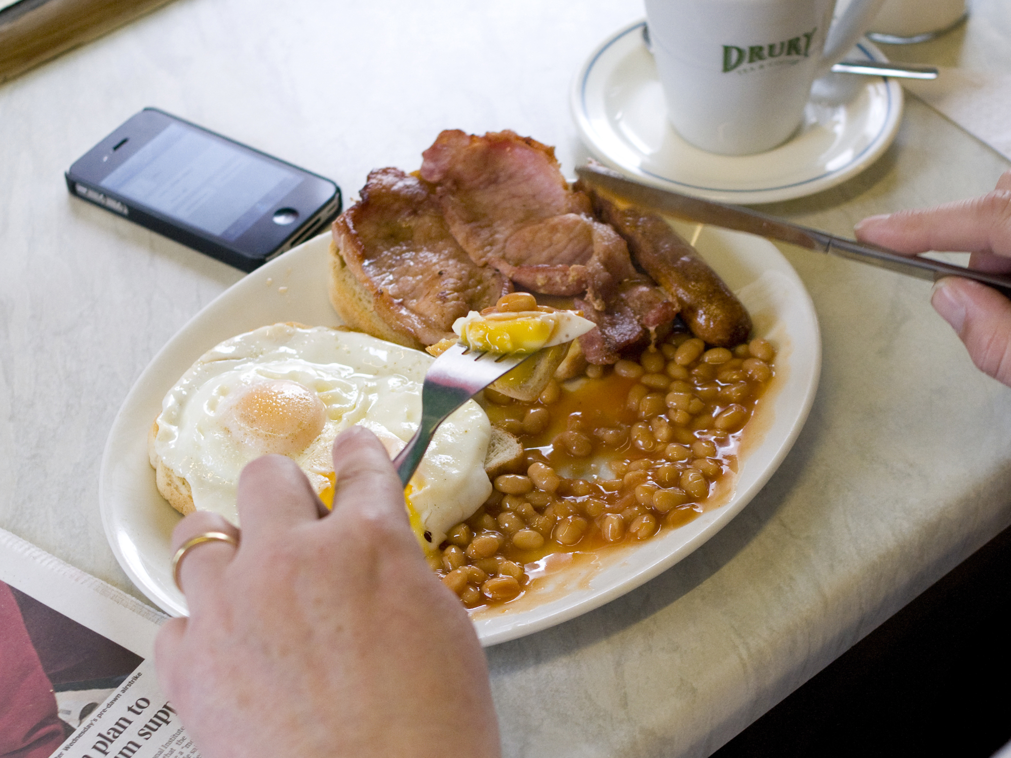 London's best greasy spoon cafes, river cafe