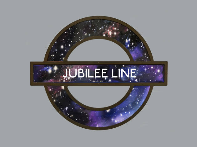 Late-night bars and clubs on the Jubilee line