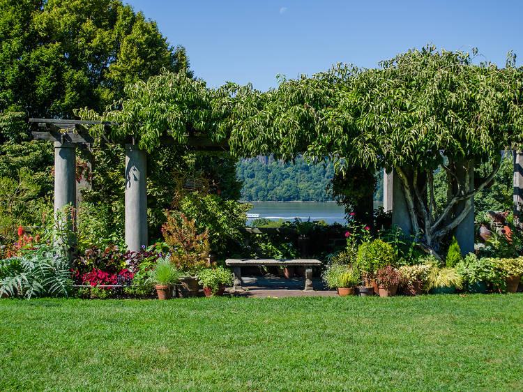 Enjoy garden views at Wave Hill