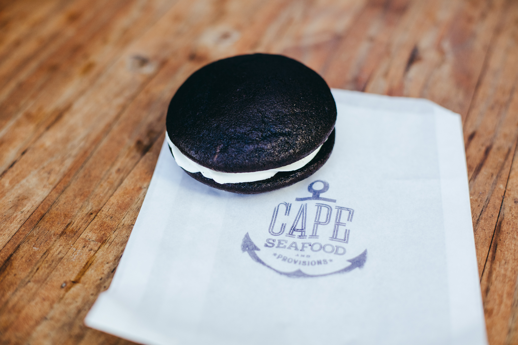 Whoopie Pie at Cape Seafood and Provisions