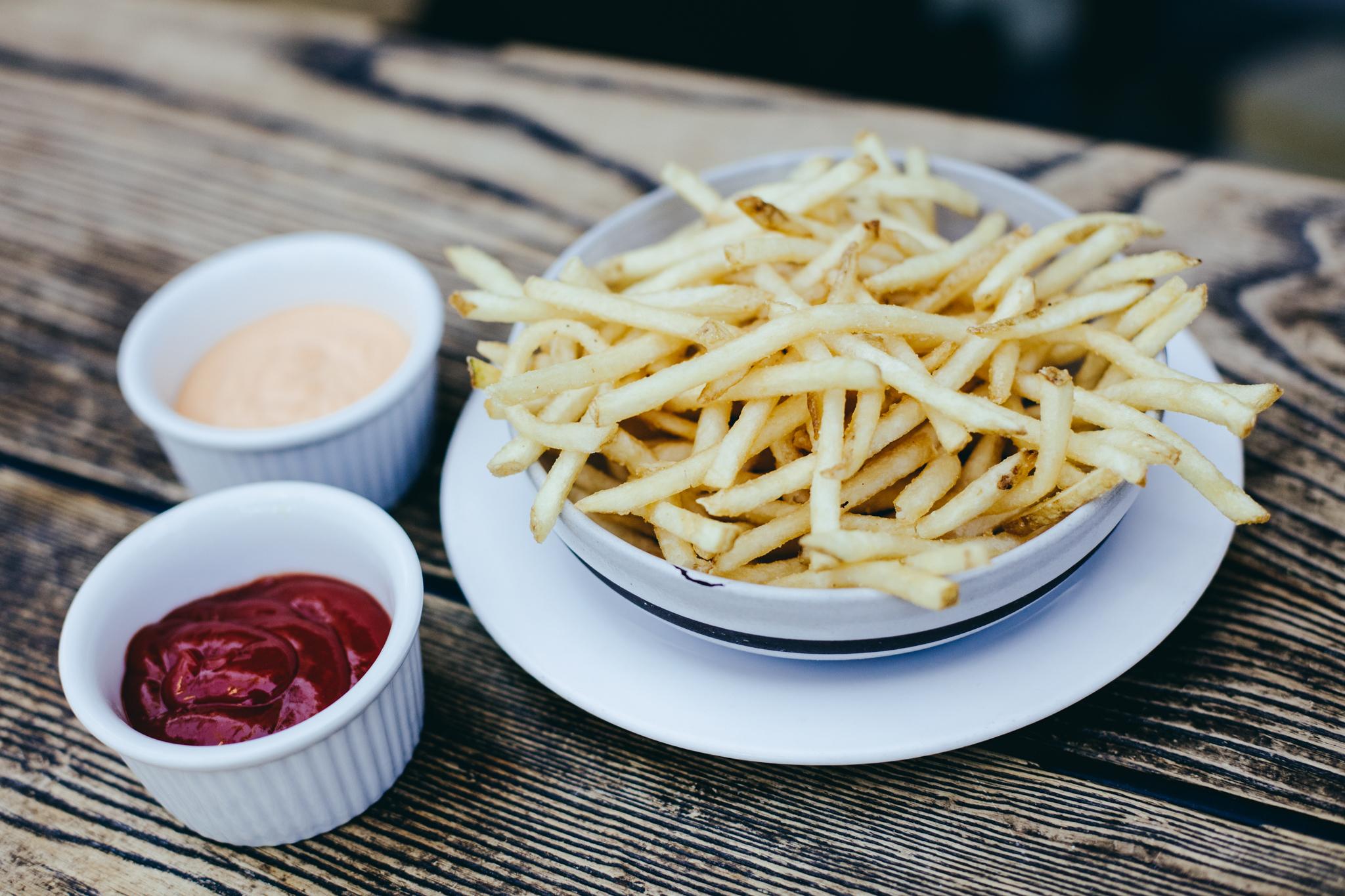 French Fries at Zinque