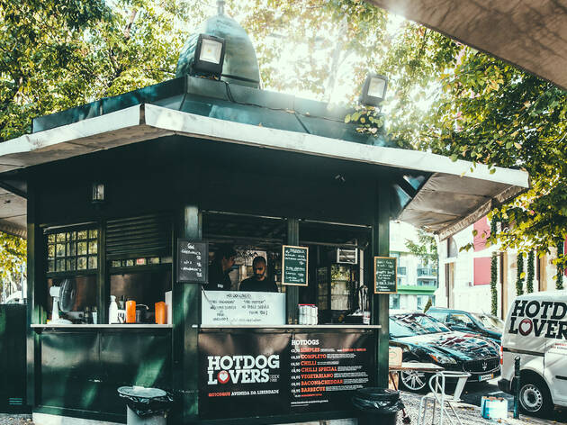 Quiosque Hot Dog Lovers, avenida da liberdade