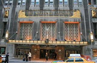 31 floors of the Waldorf-Astoria are being turned into apartments
