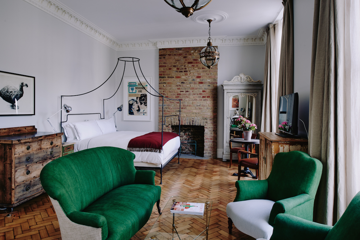 The best boutique hotels in london time out london for Design boutique hotel kos