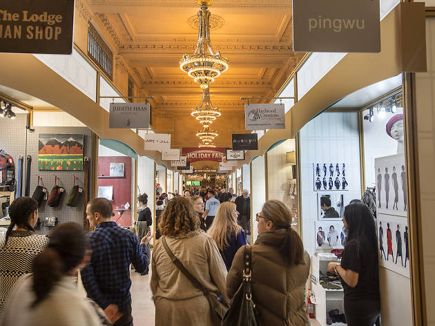 The Grand Central Holiday Market is back