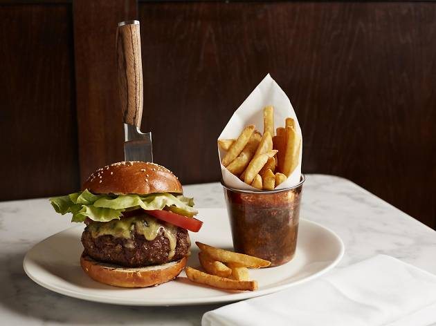 the cut steakhouse wagyu burger