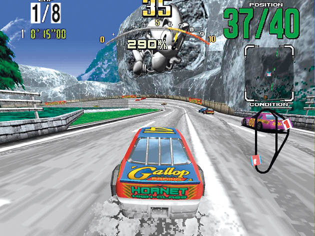 Daytona USA 1994, arcade games