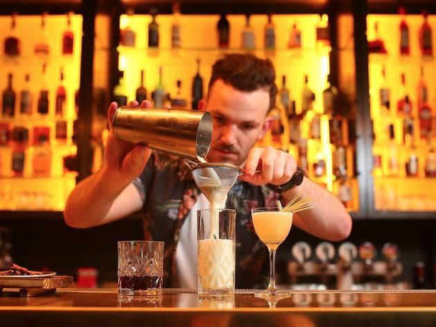 Bartender at Chin Chin (Photograph: Graham Denholm)