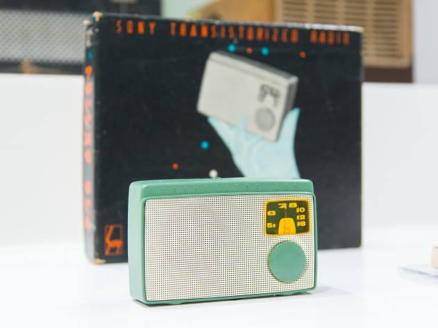 日本初のトランジスタラジオ