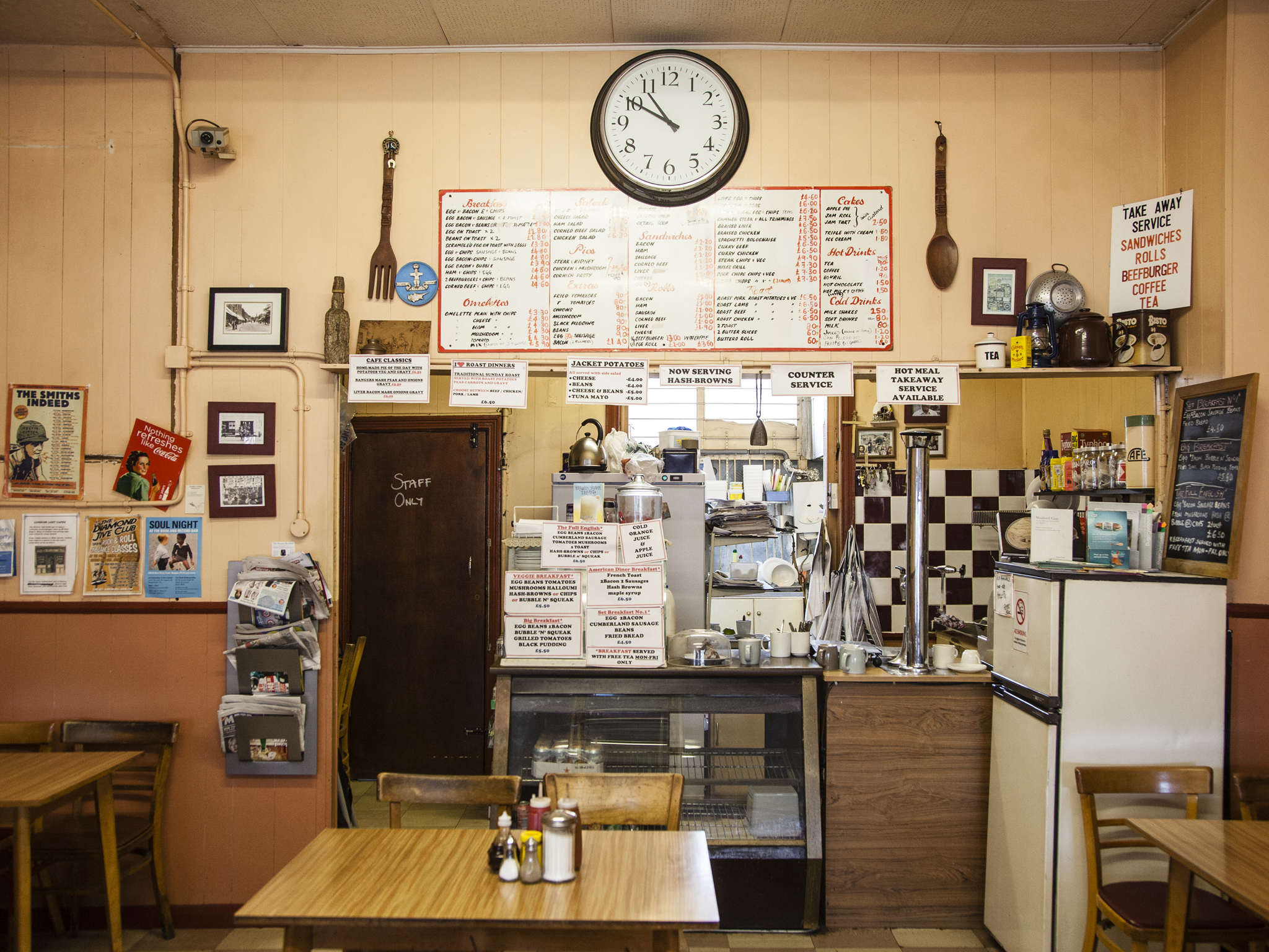 London's best greasy spoon cafes, electric cafe