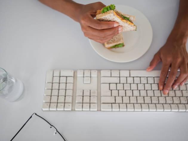 menjar a l'oficina