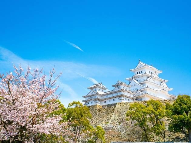 himeji castle, japan tourism