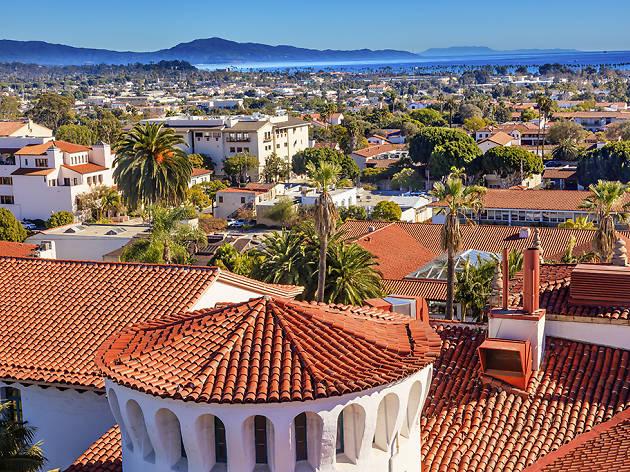 Santa Barbara skyline