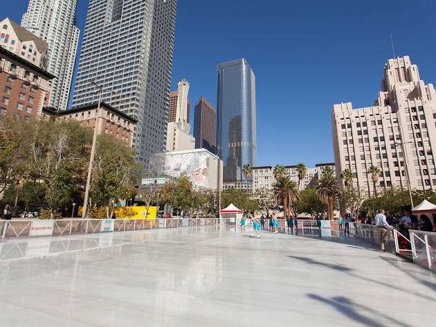 Backyard Ice Rink Lights 6 best places to go ice skating in los angeles