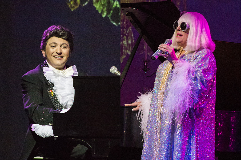 David Maiocco and Chuck Sweeney: Lee Squared—An Evening with Liberace and Miss Peggy Lee