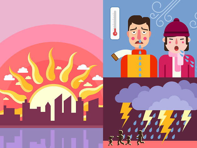 Hong Kong's 10 biggest weather extremes