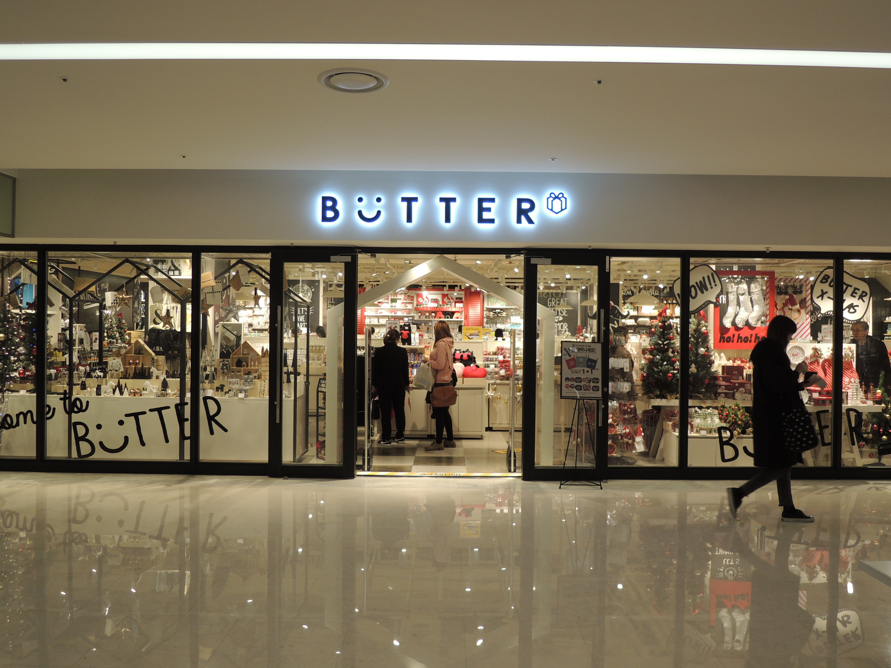 Butter shopping in seoul