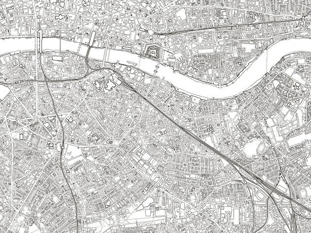 London colouring map