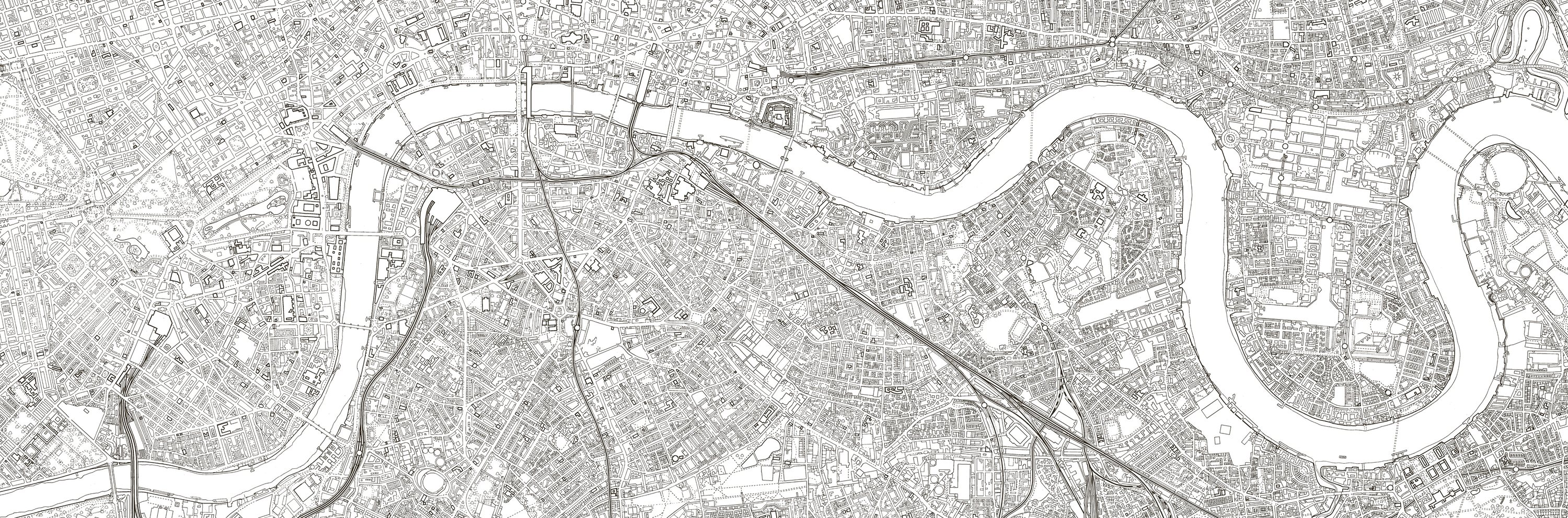 Whether Or Not You Buy Into The Adult Colouring Books Trend Its Hard To Be Bowled Over By This Crayon Ready Map Of London