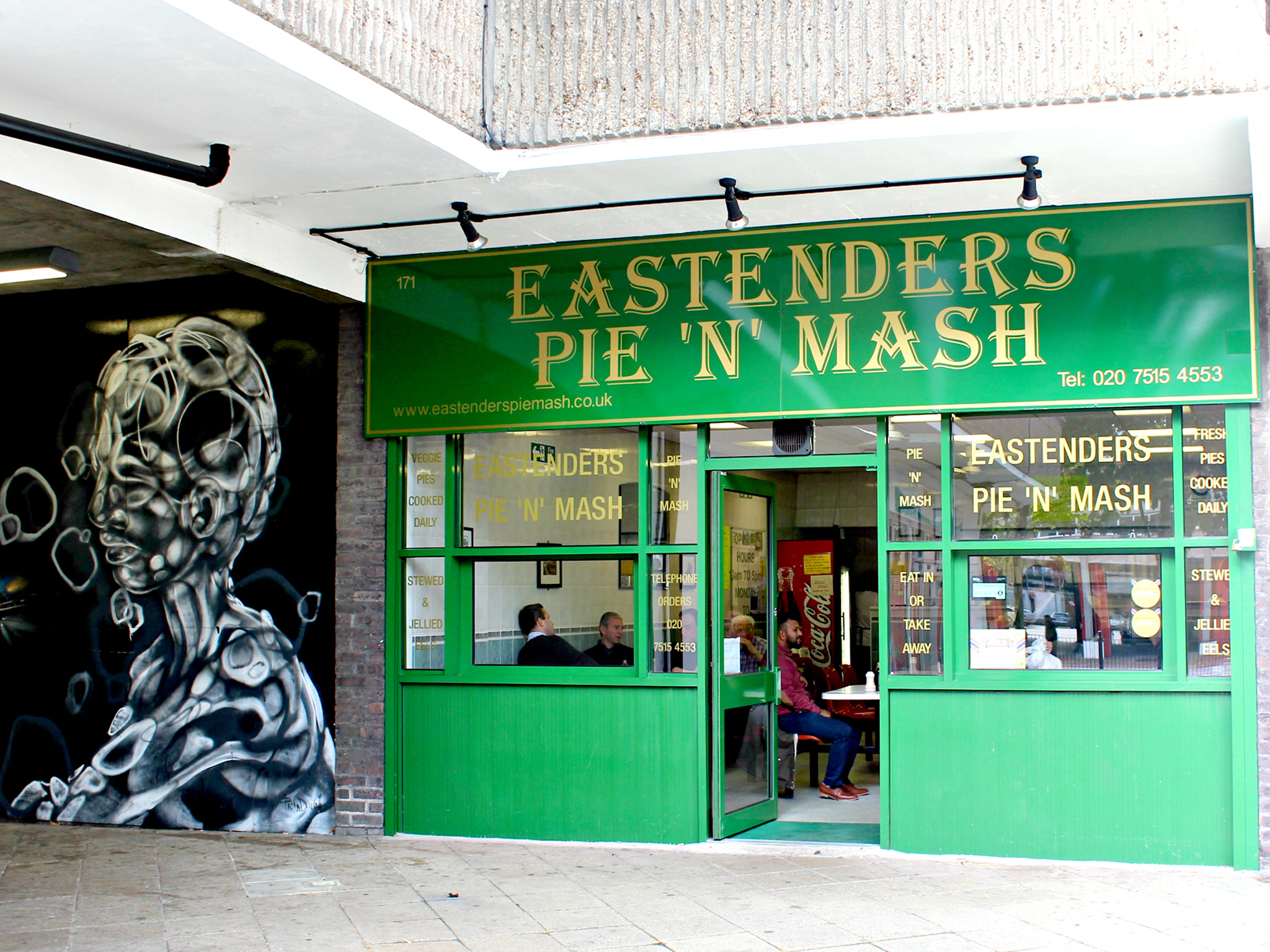 London's best pie & mash shops, Eastenders pie & mash