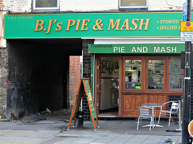 London's best pie & mash shops, BJ's pie and mash