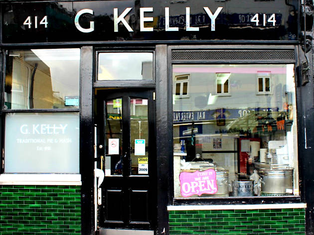 London's best pie and mash shops, G Kelly Bethnal Green Road