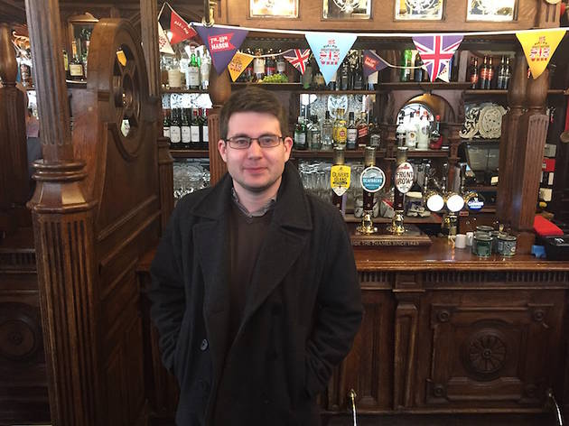This man is on a mission to visit a pub at all 330 National Rail stations in Greater London