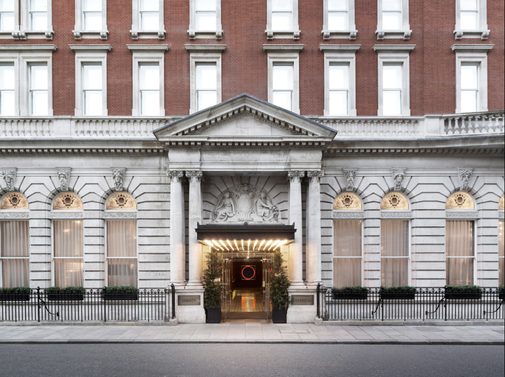 London Edition - Best hotels for parking