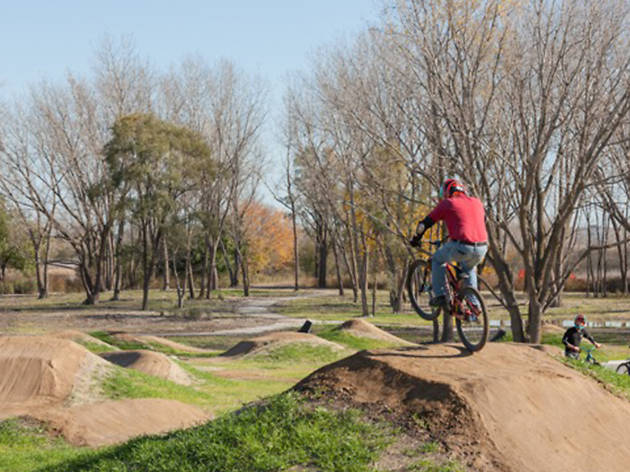 Ride through winter at Chicago's new Big Marsh Bike Park