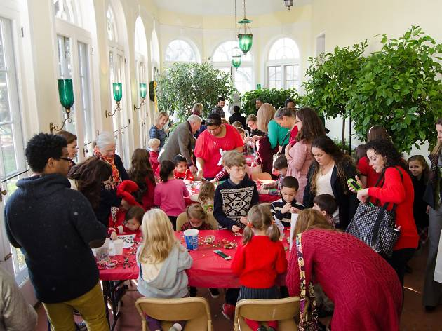 Bartow-Pell's Annual Holiday Family Day