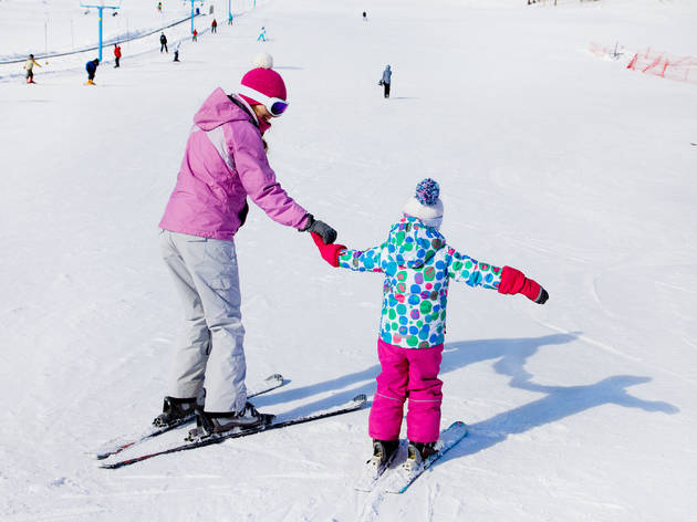 Winter weekend getaways from NYC for kids